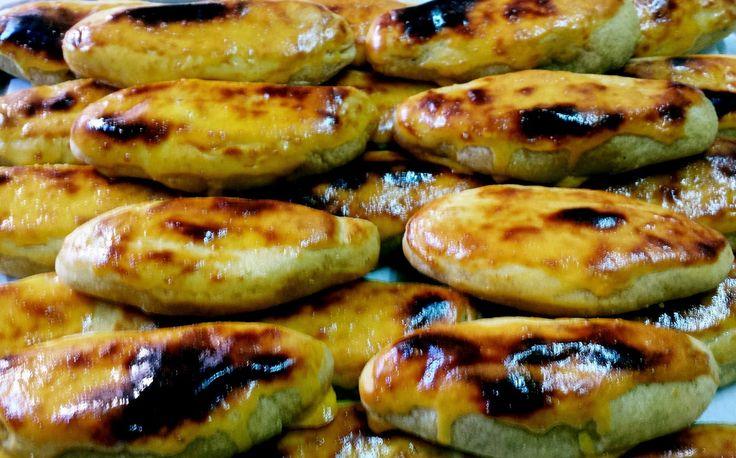 Ingredientes:     800 gr de batata doce   200gr de amêndoa moída   5 gemas + 5 (gemas ...