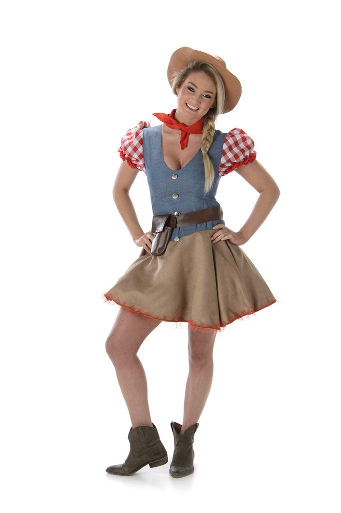 Rodeo Cowboy Kostuum Dames