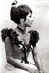 Chita Rivera - the original Can-Can portrait