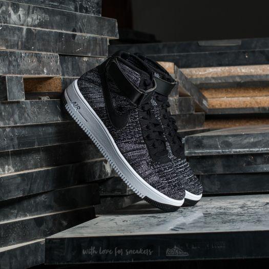 Nike AF1 Ultra Flyknit Mid Black/ Black-White za 3 990 Kč