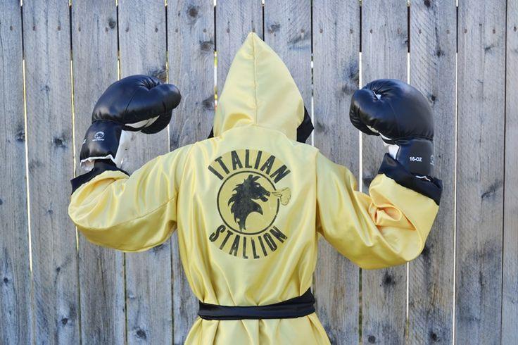Rocky Balboa Costume // a lemon squeezy home