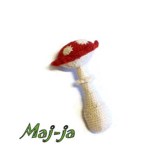 #Crochet #mushrooms #amanita #developing #toy #miniature #eco #Kitchen #decor #daughter #gift #Autumn #Forest #Goods