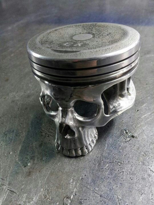 Love The Use Of A Piston Mu Husband Made Ashtrays Out Of