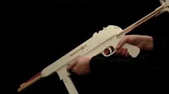 MP40 rubber band gun
