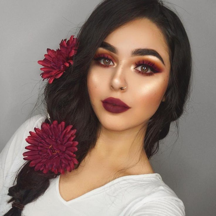 "148.1k Likes, 311 Comments - NYX Professional Makeup (@nyxcosmetics) on Instagram: ""Holiday hues @zobeautyy wears our Matte Liquid Liner! Shop all of our liners in…"""