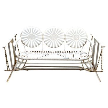 Check out this item at One Kings Lane! French Midcentury Glider