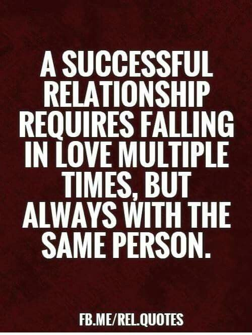Successful Relationship...