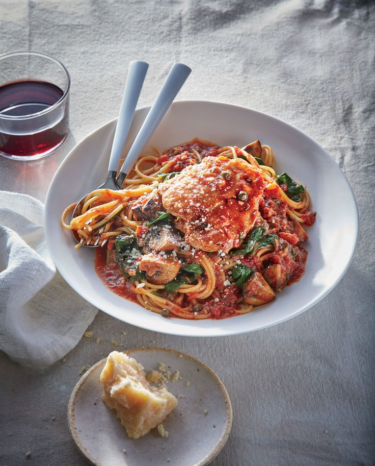 The slow cooker acts as a braiser for this Italian classic. While the chicken becomes succulent and fall-apart tender, briny capers, crus...