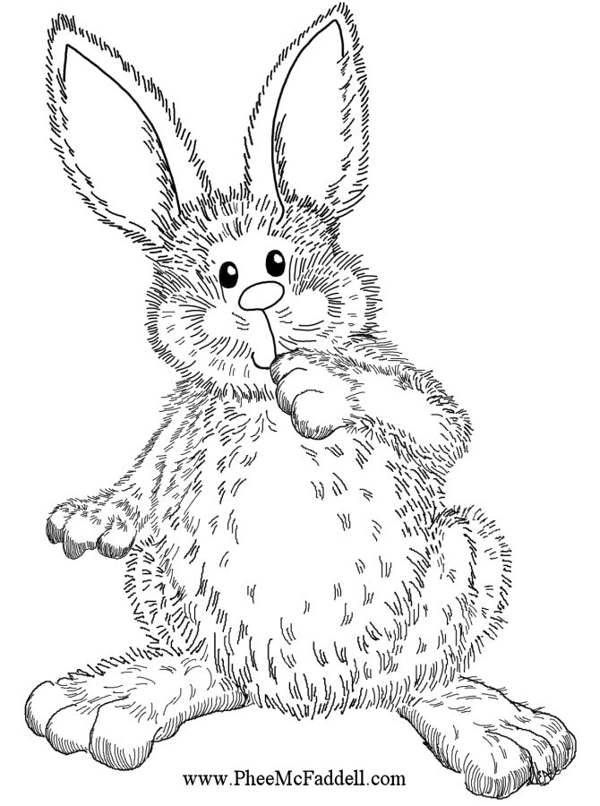Awesome Rabbit Coloring Book 83 Me The Easter Bunny