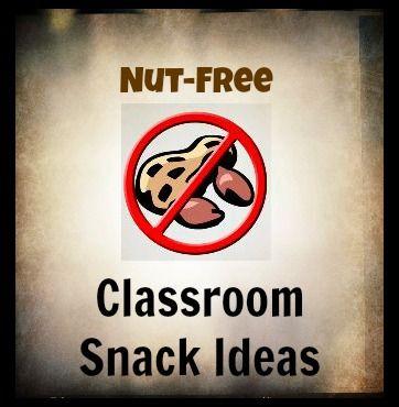 List of Nut-Free Snacks
