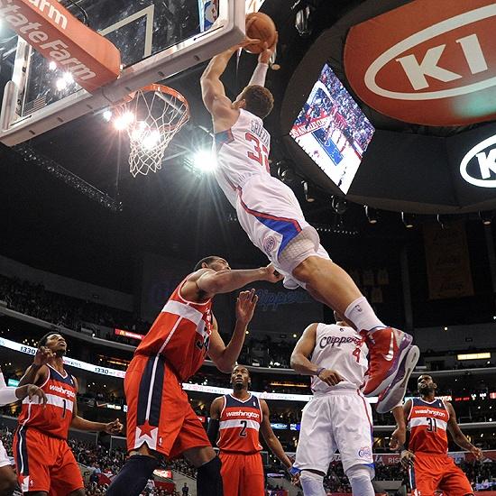 Que volada de Blake Griffin de los Angeles Clippers.
