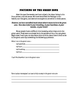 This is a worksheet that can be used with older students ...