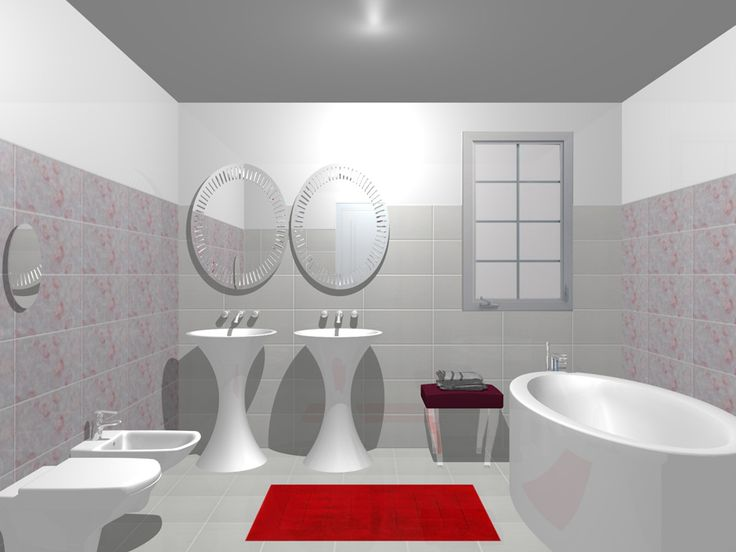 Idei frumoase si creative pentru baia ta! Mai multe modele de design cu gresie si faianta pe: www.castilio.ro