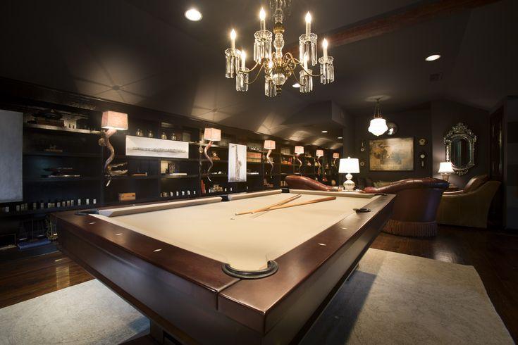 Game Room - Kellie Griffin Interiors -   Knollwood - 2012 Atlanta Symphony Assoicates' Decorators' Showhouse & Gardens