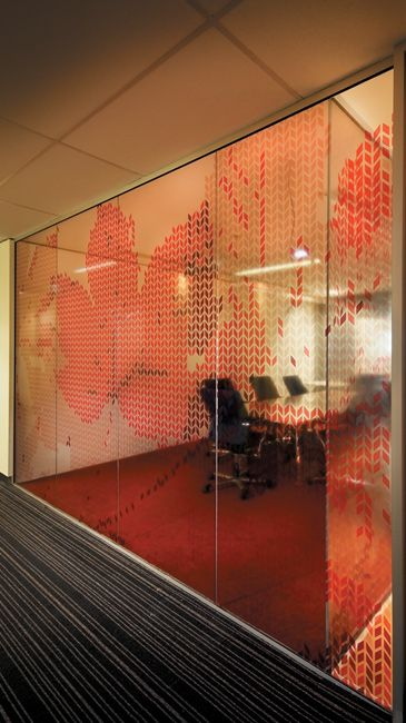 Workplace window graphics - perfect office branding!