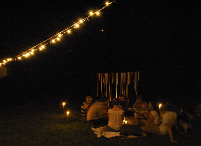 Backyard Summer Picnic  #collectandcarry