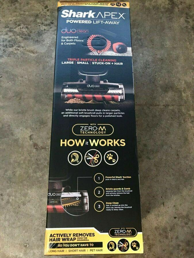 NEW Shark Vacuum APEX Lift Away DuoClean Upright AZ1002 Retail Receipt Warranty