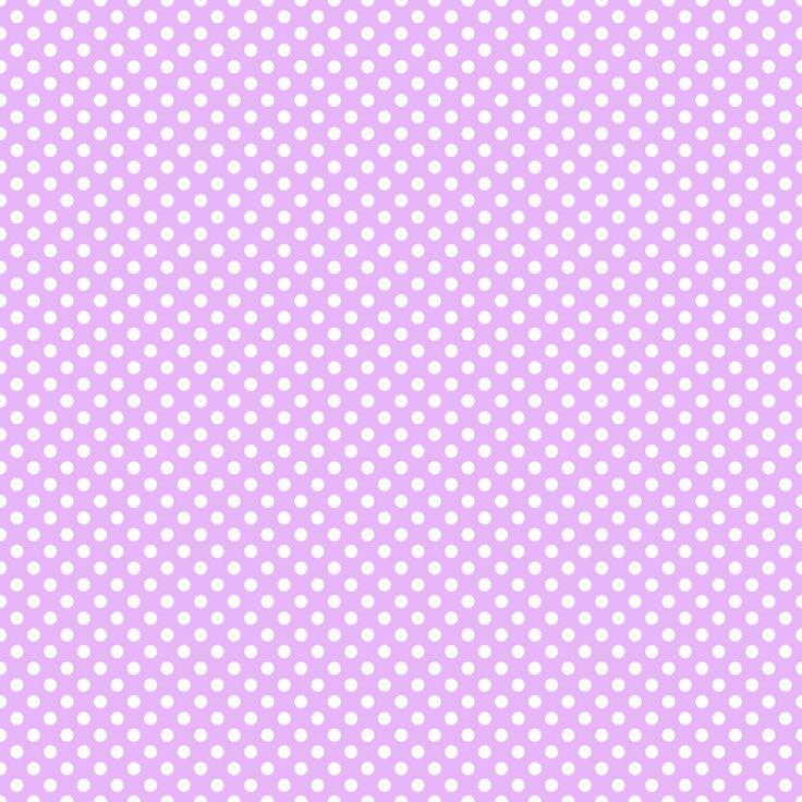 White polka dots on purple. | Digi Paper | Pinterest