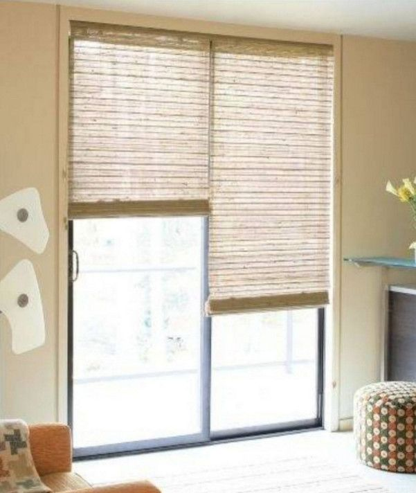 Window Covering Ideas For Sliding Doors