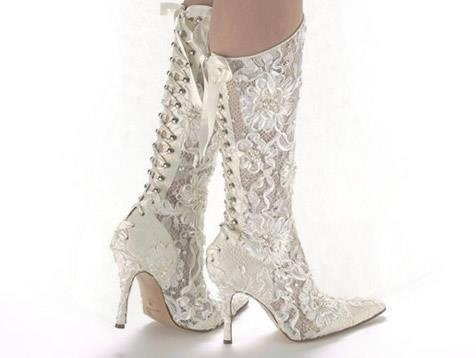 Wedding Shoes Boots Unique And Beautifull