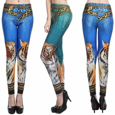 TIGER STYLE LEGGINGS - touchfancy.com - 1