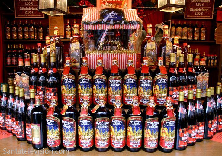 Vinho quente no Mercado de Natal de Nuremberga na Alemanha