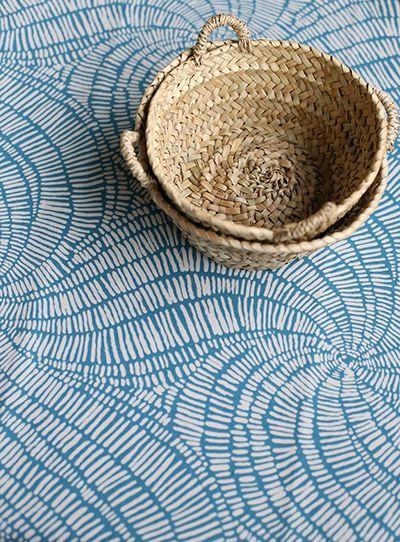 Gibbs Swirl, Turquoise