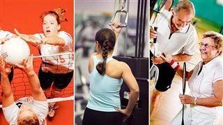 Träning är bra oavsett ålder. Men i olika faser i livet har man olika förutsättningar och behöver också fokusera på en viss typ av träning.