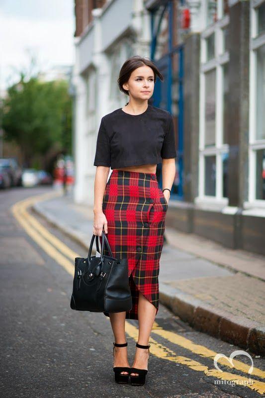 Miroslava Duma After Christopher Kane London Fashion Week 2014..., a street style post from the blog mitograph on Bloglovin.