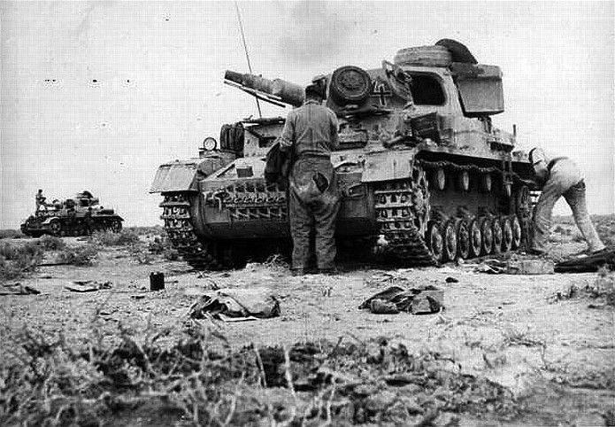 Panzer IV Ausf D DAK