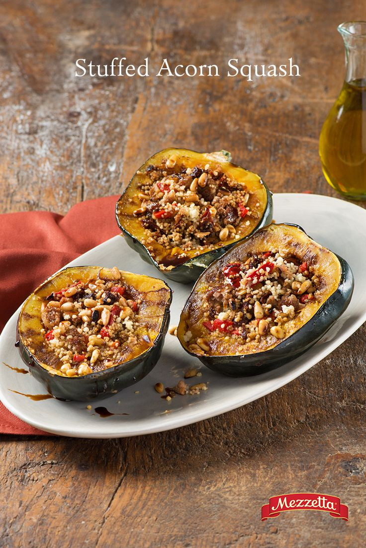 Looking for a healthier, yet filling option this holiday season? This Stuffed Acorn Squash recipe incorporates delicious Meditarranean flavors with warm seasonal ones for a dish your whole family will enjoy. Learn how!