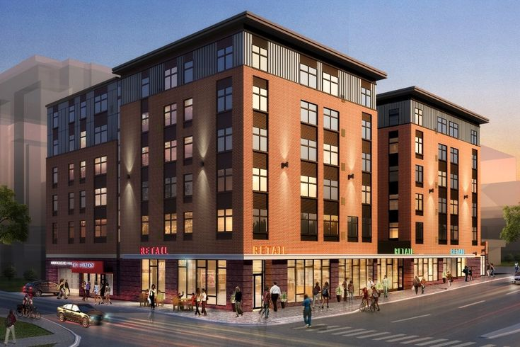 The Foundry is a new mixed-use, student housing building coming to Iowa State University in Ames.