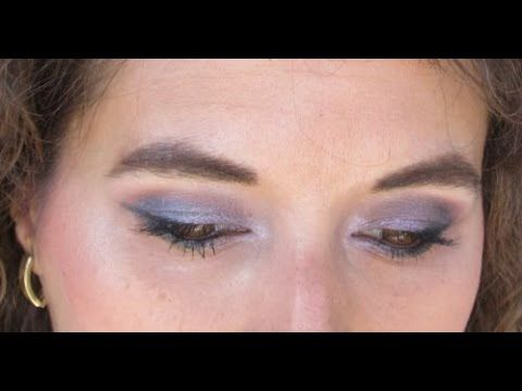 MY BIRTHDAY MAKEUP  TUTORIAL # naivy and purple