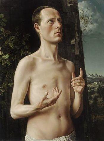 Carel Willink - Self portrait by Carel Willink http://wiki.cultured.com/people/Carel_Willink/