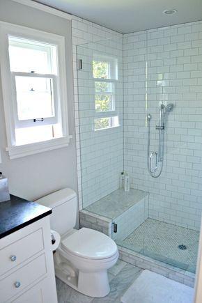 Best 20 small bathroom cabinets ideas on pinterest half for Three quarter bathroom ideas