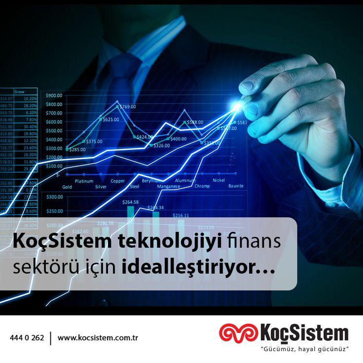 KoçSistem'in finans sektöründe gerçekleştirdiği başarı hikayeleri için tıklayın.