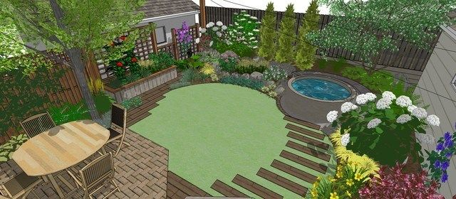 Small Backyard Landscaping Ideas Luxury Backyard Design Plans