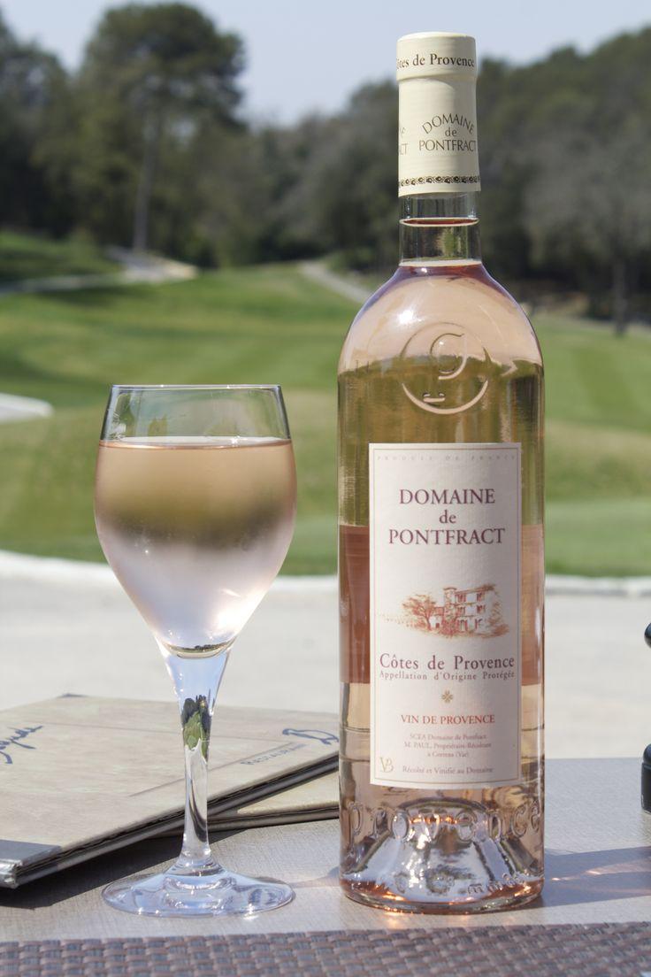 Rosé wine of Provence: DOMAINE DE PONTFRACT, appellation AOP Côtes de Provence, Vins Bréban. Gold medal at CGA, Paris.