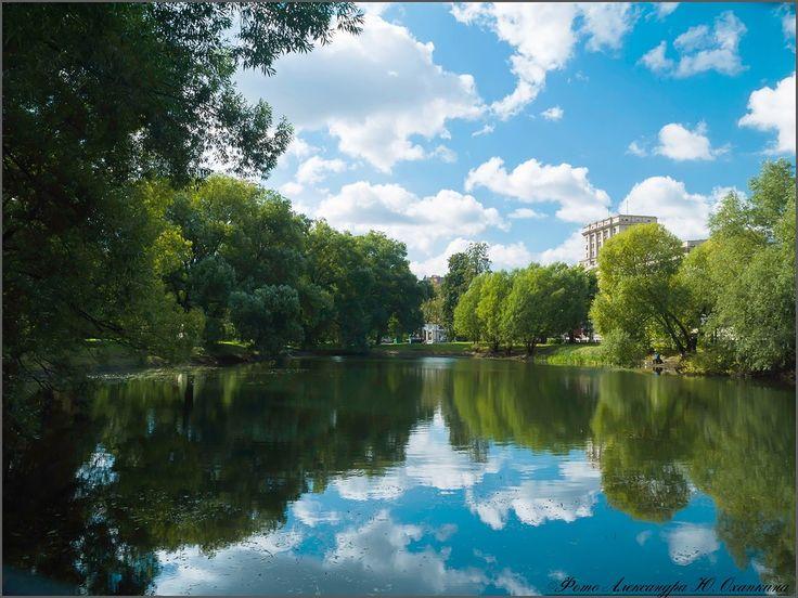 Лефортово, Москва, парк, пруд