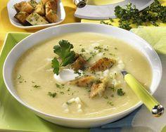 Unser beliebtes Rezept für Sellerie-Creme-Suppe und mehr als 55.000 weitere kostenlose Rezepte auf LECKER.de.
