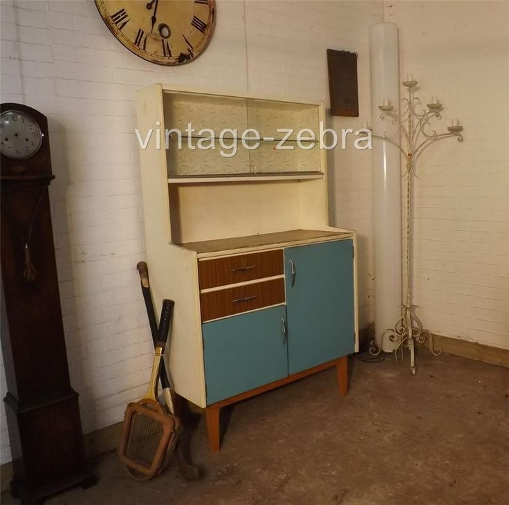 172 Best Images About Vintage Kitchen Cabinets/Fridges