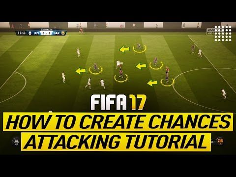 """http://www.fifa-planet.com/fifa-17-tutorials/fifa-17-attacking-tutorial-how-to-create-goal-chances-most-effective-build-up-play-trick/ - FIFA 17 ATTACKING TUTORIAL - HOW TO CREATE GOAL CHANCES - MOST EFFECTIVE BUILD UP PLAY TRICK  FIFA 17 – HOW TO CREATE AND SCORE GOALS CHANCES! BEST BUILD UP PLAY TECHNIQUE IN FIFA 17 ►Buy Cheap & Safe FIFA 17 COINS –  – Discount Code """"Krasi"""" for 8% OFF ►Cheap Game Codes & XBOX & Playstation P"""