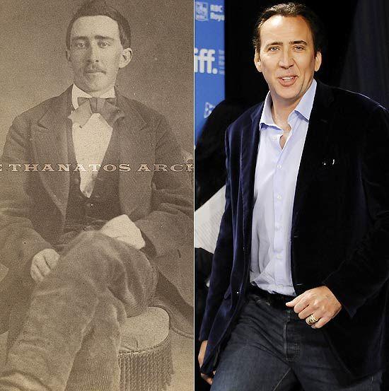 """Há algum tempo, um rumor bizarro vem se espalhando na internet: o de que o ator Nicolas Cage, de oficialmente 48 anos, na verdade seria um vampiro de 140 anos.    A informação começou a se espalhar depois que uma foto de um homem bastante parecido com ele foi colocada à venda no site eBay.    A imagem mostra um homem em 1870, pouco depois da Guerra Civil.    """"Não bebo sangue e, da última vez que olhei no espelho, eu tinha reflexo"""", brincou o ator durante entrevista no programa de David…"""
