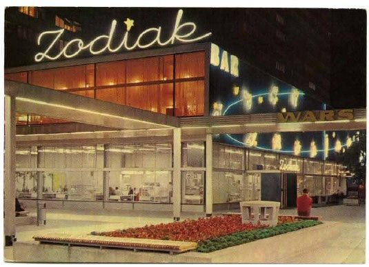Bar Zodiak, Warsaw, 1974