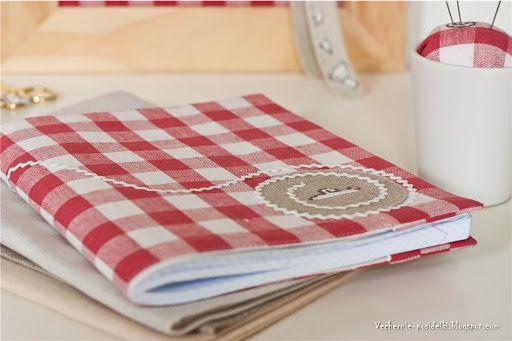 Еще одна порция красной клеточки / More red checked fabric - Вечерние посиделки
