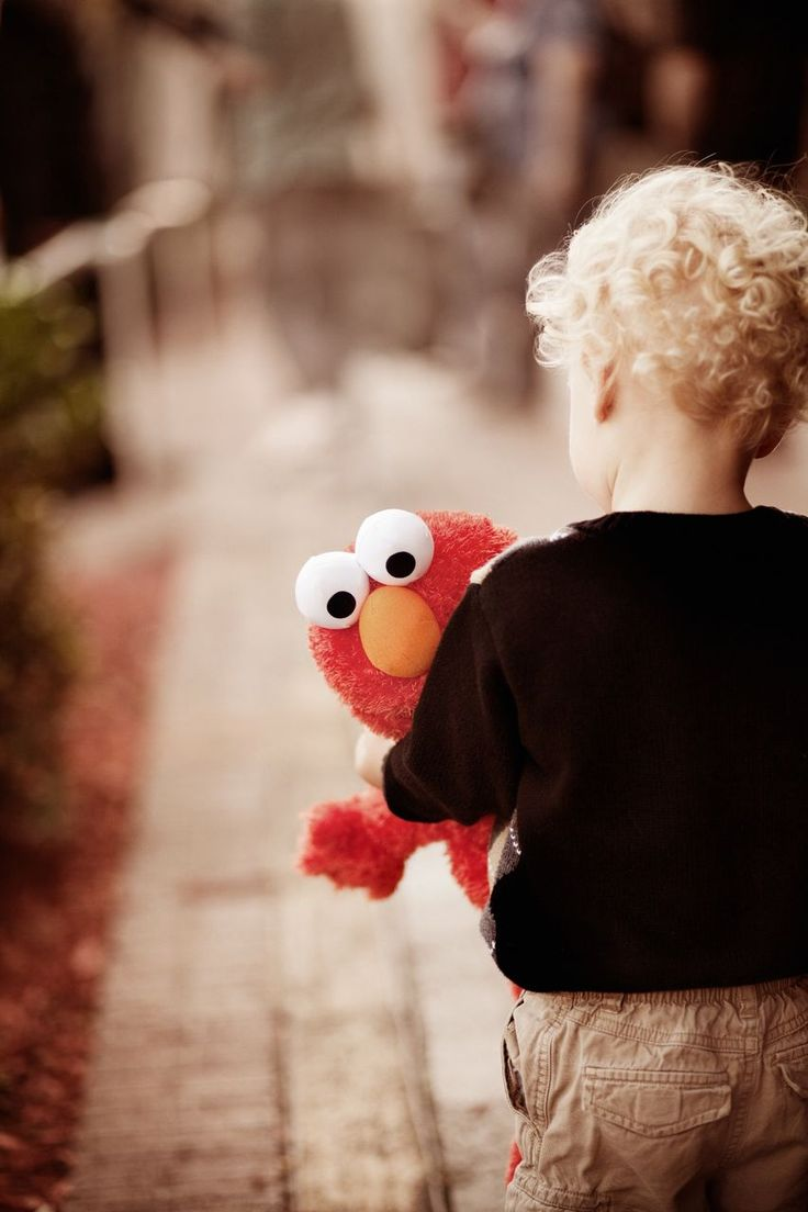 I would love pictures of Gabriella and Benjamin like this with Elmo and Cookie Monster (or Ernie)