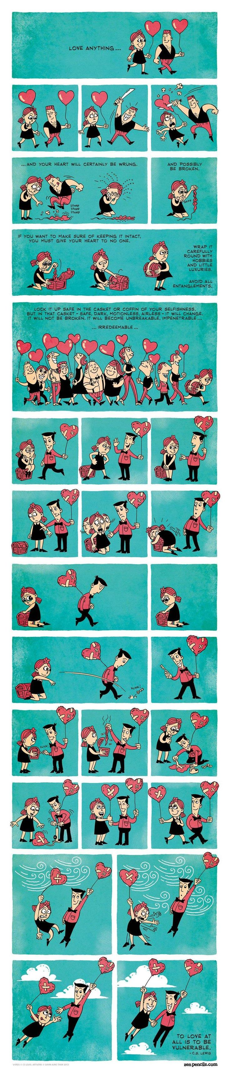 Love by C.S.Lewis. the pictures are cute.
