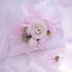 """Malá sada """"Bílá s růžovou"""""""