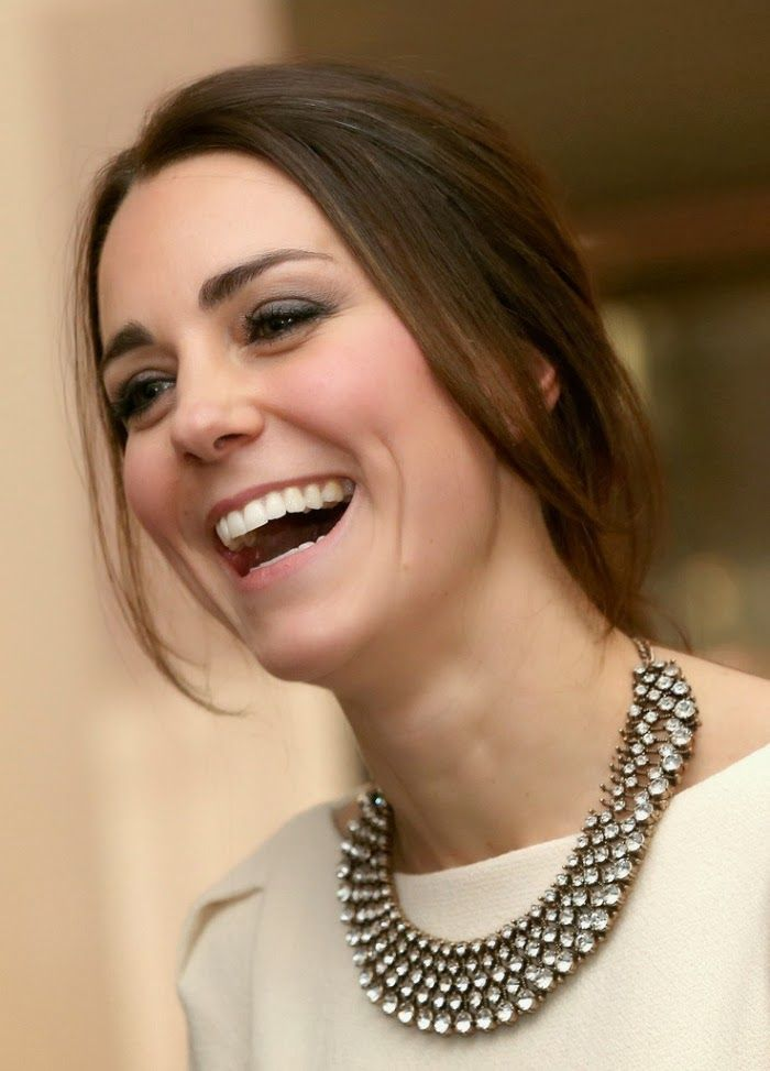 The Duchess of Cambridge before a showing of a film commemorating the life of Nelson Mandela.  At the conclusion of the showing, the emcee announced that Mr. Mandela had died while rhe film was being shown. December 5, 2013.