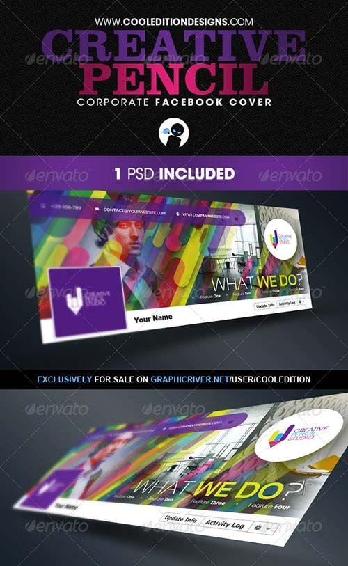 GraphicRiver Creative Pencil - Corporate Facebook Cover